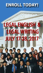 2017 Legal English Legal Writing