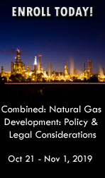 2019 Combined Natural Gas Development